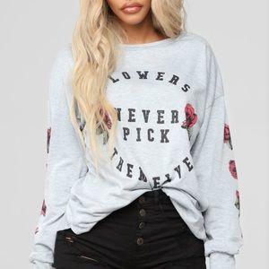 Fashion Nova Long Sleeve Top